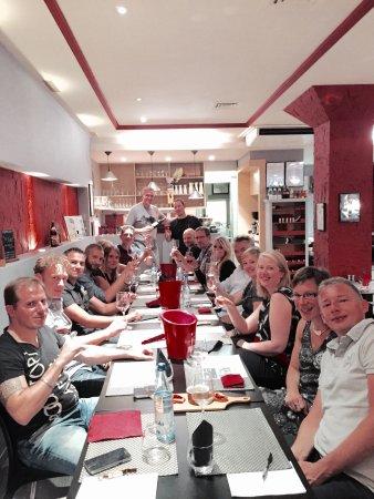 Soir e nologique gourmande de notre club aur wine - La table des chevaliers haguenau ...