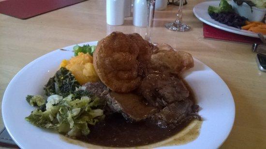 Lorton, UK: Roast beef