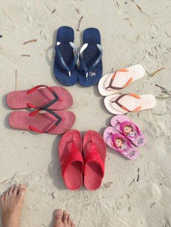 Gumasa Beach: sand