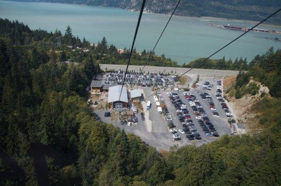 Squamish, Canadá: Parking lot