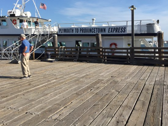 Plymouth to Provincetown  Express Ferry: At the pier