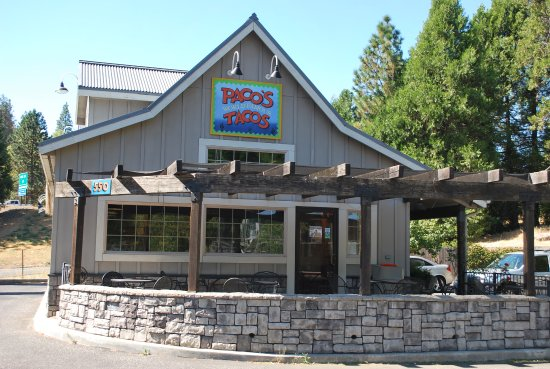 Grass Valley, CA: Paco's Tacos on Mill Street near the off ramp of 20/49
