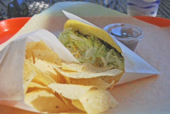 Grass Valley, CA: Shredded Beef Taco