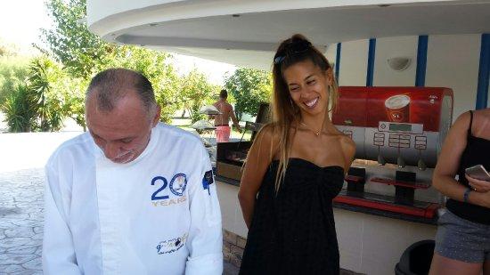 Cours de cuisine par le chef et anastasia la manager de - Cours de cuisine par internet ...