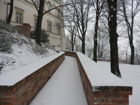 Pannonhalma Abbey: Lots of snow