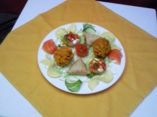 Athlone, Irlanda: Selection of vegetarian starters