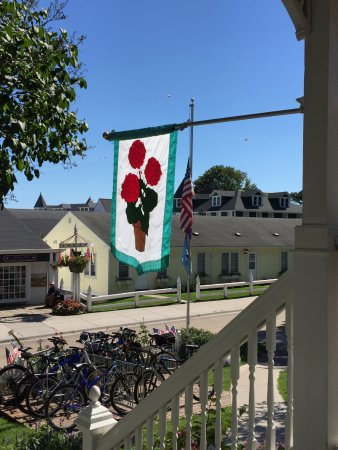Metivier Inn: From the Front Porch