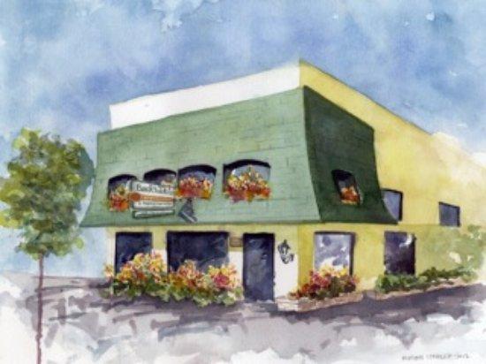 Lafayette, CA: watercolor