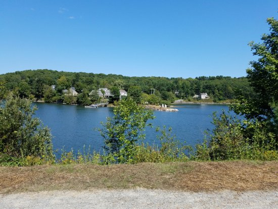Belfast, ME: Great Views from the Rail Trail