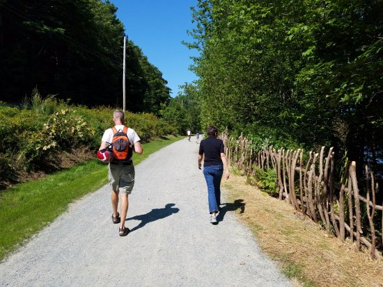 Belfast, ME: Trail is Wide Enough for Strollers