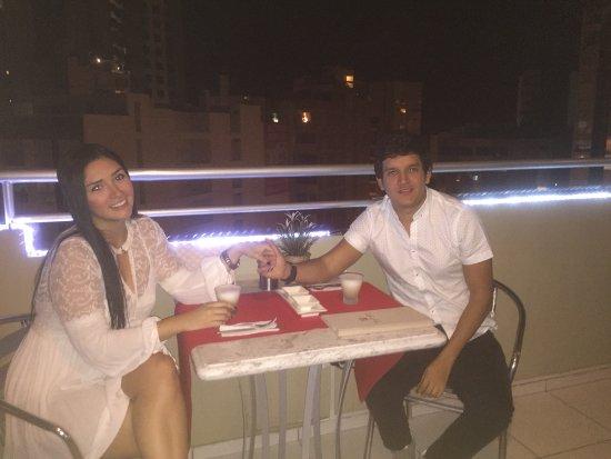 Hotel Runcu Miraflores: Terraza del Restaurante