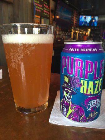 Skaneateles, Nowy Jork: Abita Brewing Purple Haze...so good!