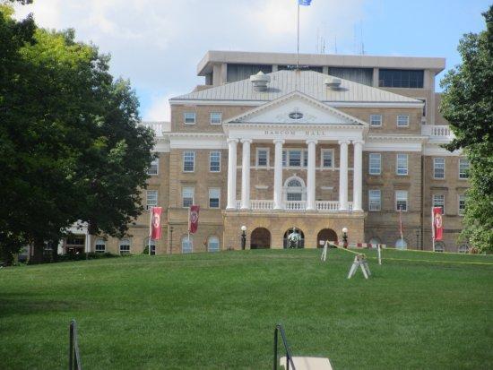 University of Wisconsin - Madison: Bascom Hall, the main administration building