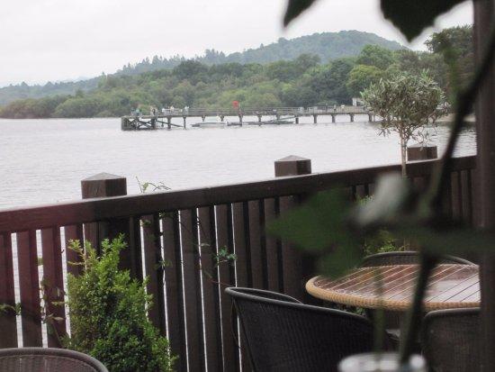 Lodge on Loch Lomond: View of Loch Lomond from Dining Room