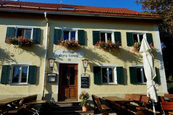 Покинг, Германия: Eingang Gaststube