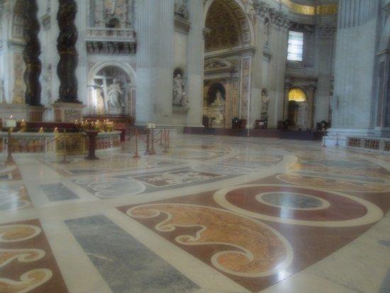 Beautiful Floors beautiful floors - picture of basilica di san pietro, vatican city