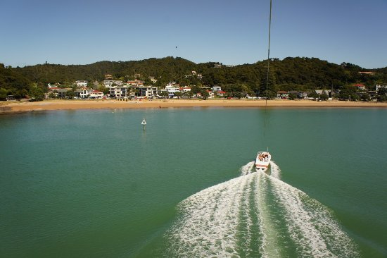 Paihia, New Zealand: Flying Kiwi Parasail