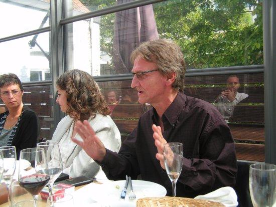 Auderghem, Bélgica: photo diner en familles