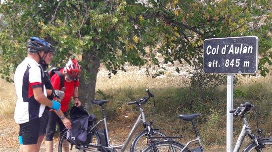 Buis-les-Baronnies, France: On accède aisément à ce type d'altitude