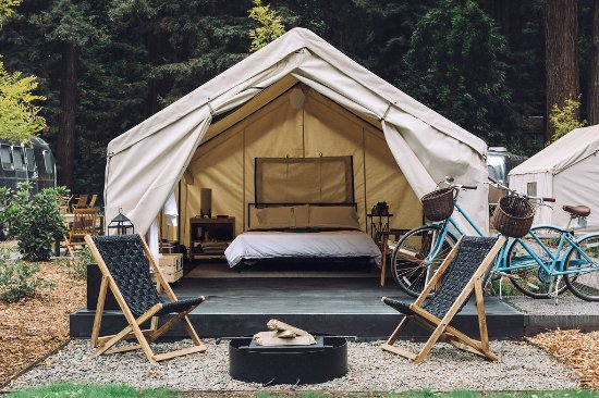 Luxury Tent at AutoC& Russian River & Luxury Tent at AutoCamp Russian River - Picture of AutoCamp ...