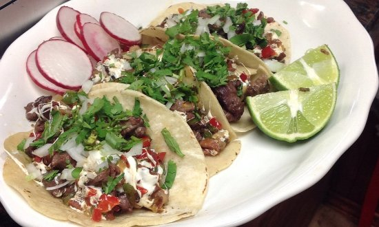 Latin American Restaurant: Our BEST-SELLING TACOS! Come in and try our authentic Mexican cuisine.