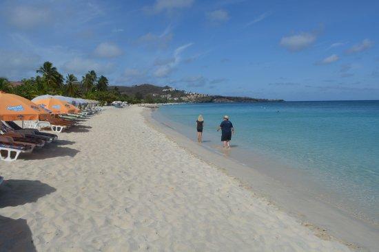 Grand Anse Beach Chairs And Umbrellas