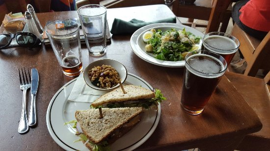 Timberline Lodge, OR: Lunch for two.  Yum.