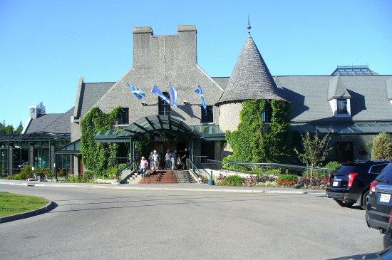 La Malbaie, Canadá: Casino de Charlevoix.Magnifique architecture.A visiter.