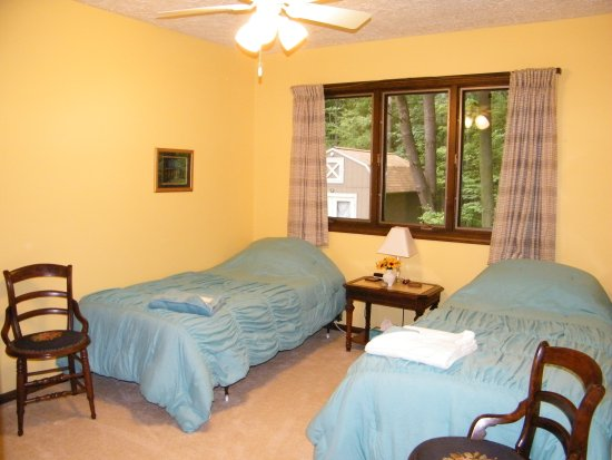 Sunflower room at the Self Realization Meditation Healing Centre, Bath MI USA
