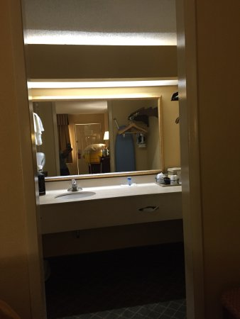 Super 8 Macon West: Pleasantly Surprised at the cuteness of my room.  Pet friendly hotels can be uhh, rough. (Haha R