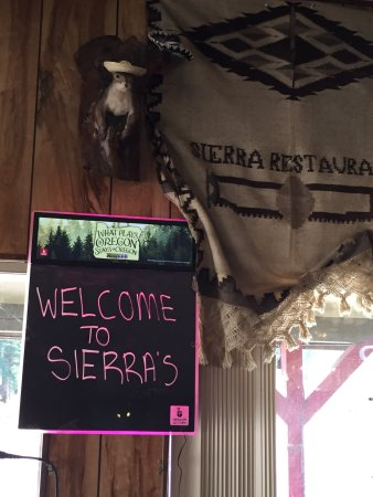 Gates, OR: Sierra Mexican Restaurant