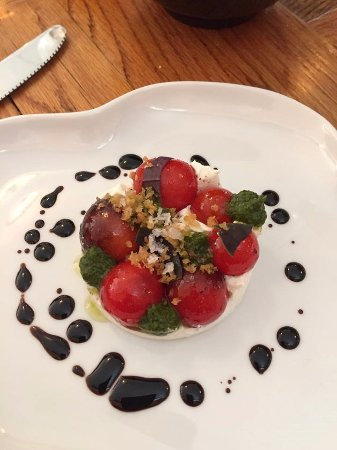 Reedsville, PA: Tomato and ricotta salad
