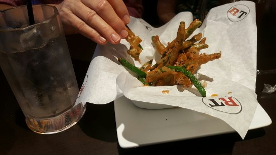 Palm City, Floryda: Beer battered green beans