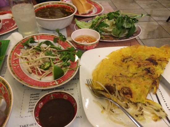Little Saigon: Absolutely delicious.  Reasonably priced.  Nice market attached.