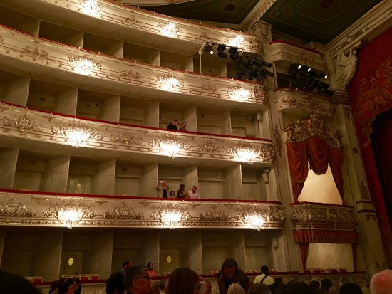 Balcony seats picture of mikhailovsky opera and ballet for Balcony seating
