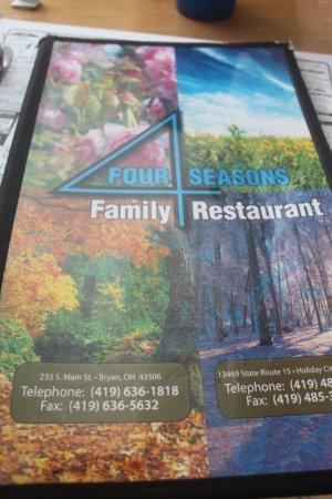 Montpelier, OH: menu