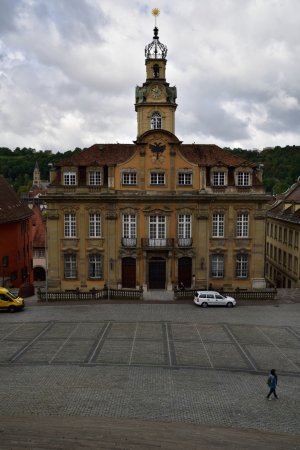 Schwabisch Hall, Germany: 市庁舎