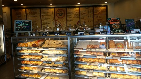 Brentwood, Kalifornia: Willy's Bagels & Blends
