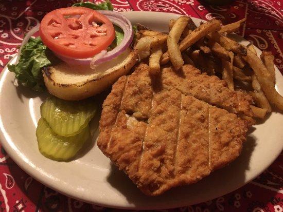 Frisco, Τέξας: Fried Chicken Sandwich
