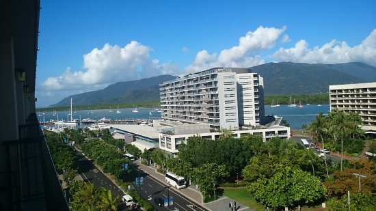 Pacific Hotel Cairns: View from my room