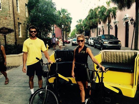 Charleston Bike Taxi