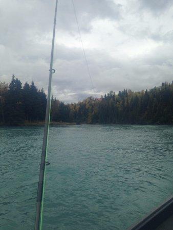 Cooper Landing, Αλάσκα: Beautiful scenery on the Upper upper Kenai River.