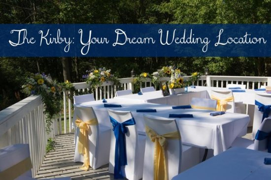 Douglas, MI: wedding on the deck