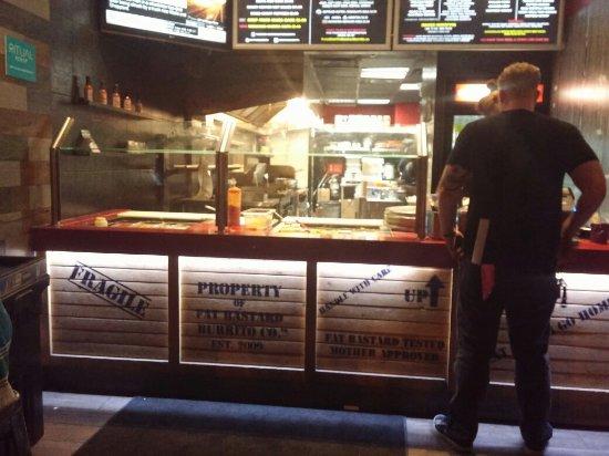 Photo of Mexican Restaurant Fat Bastard Burrito Co. at 1118 Queen St W, Toronto M6J 1H9, Canada