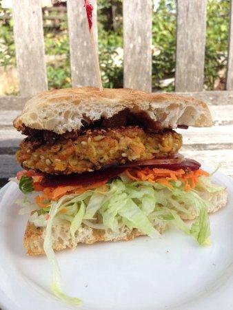 Bulahdelah, Australien: Homemade Veggie burger