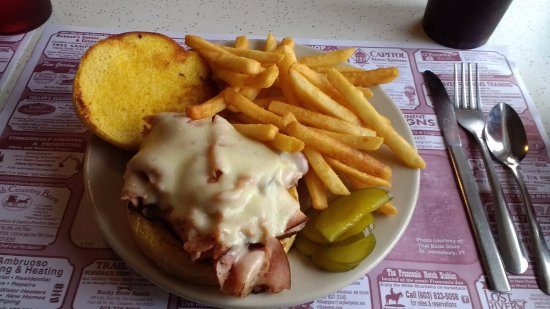 Twin Mountain, NH: Fantastic ham & cheese!