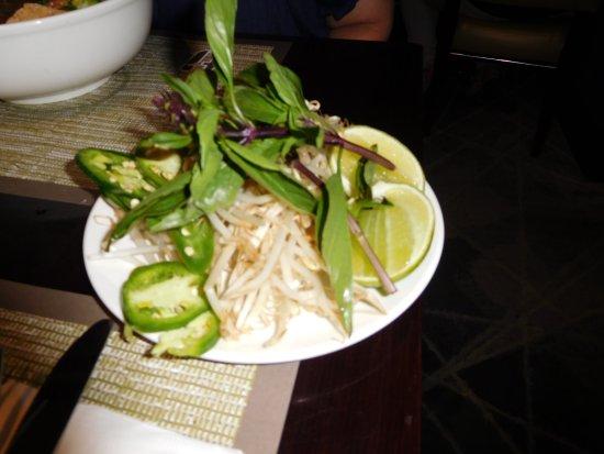 Pho at Treasure Island: Noodle dish