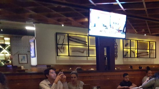 Concord, Australien: Dining area Outback Steakhouse