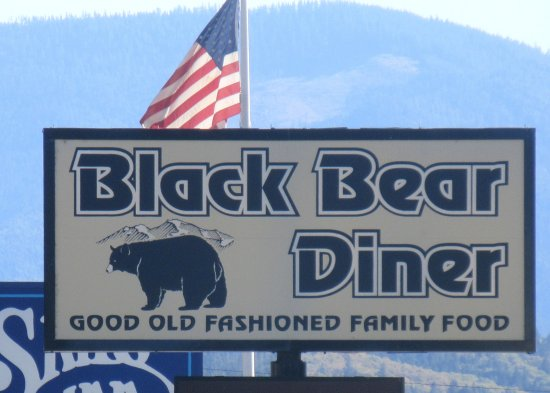 Black Bear Diner, Grants Pass, Oregon