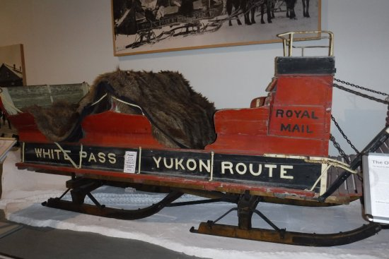 Yukon Transportation Museum: Historical Mail Delivery